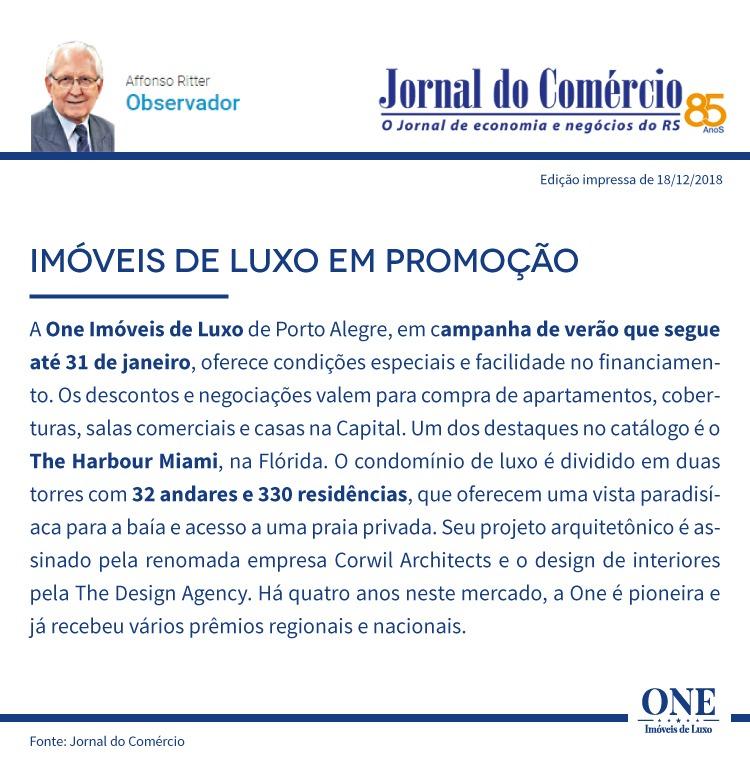 ONE Imóveis de Luxo lança campanha de verão: ONE OFF SUMMER