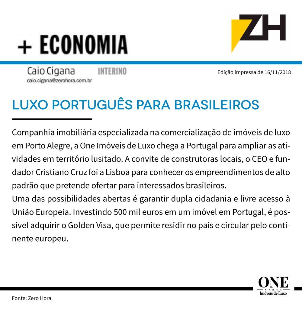 LUXO EM PORTUGAL